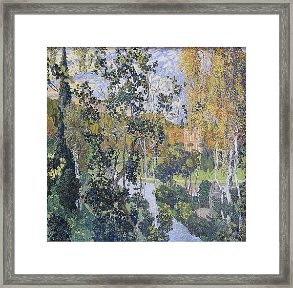 Landscape. Pavlovsk Framed Print by Aleksandr Golovin