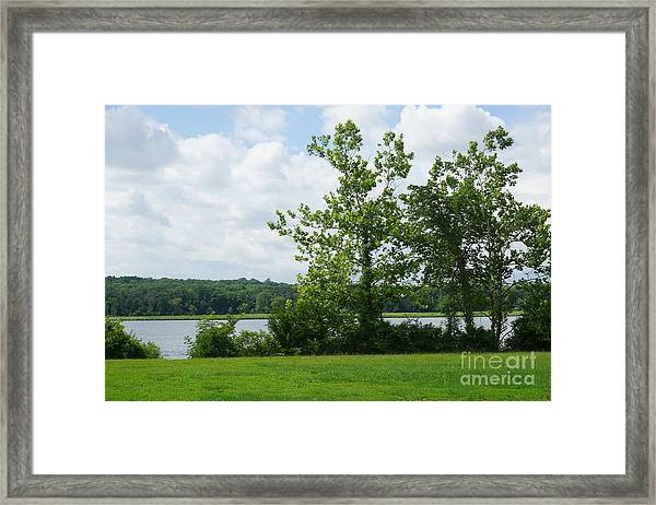 Landscape Photo II Framed Print
