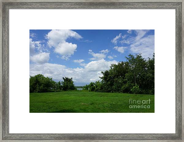 Landscape Photo Framed Print