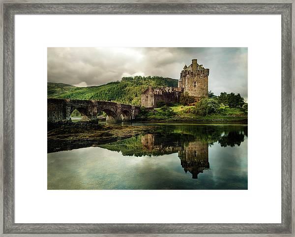 Landscape With An Old Castle Framed Print