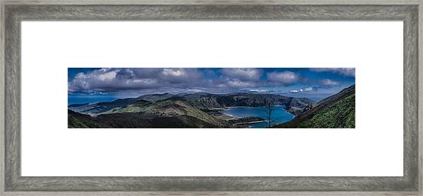 Landscapespanoramas007 Framed Print