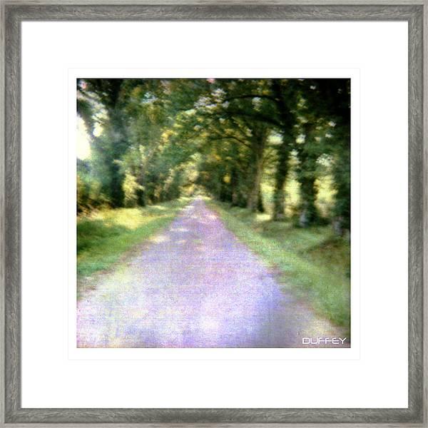 Lane 2 Framed Print