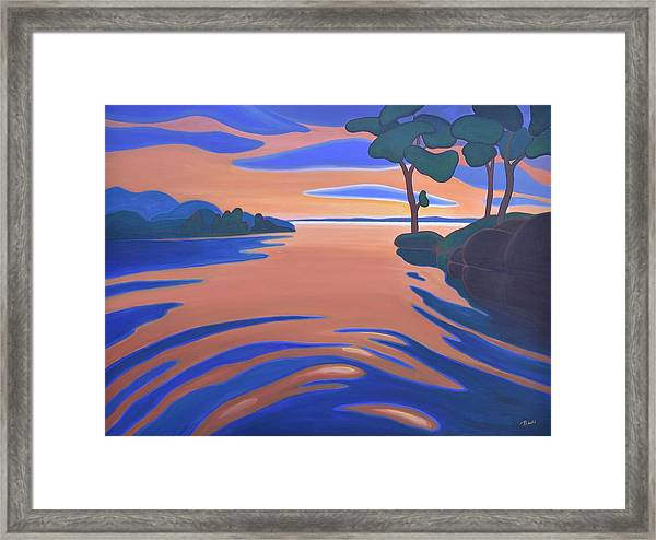 Languid Evening Framed Print