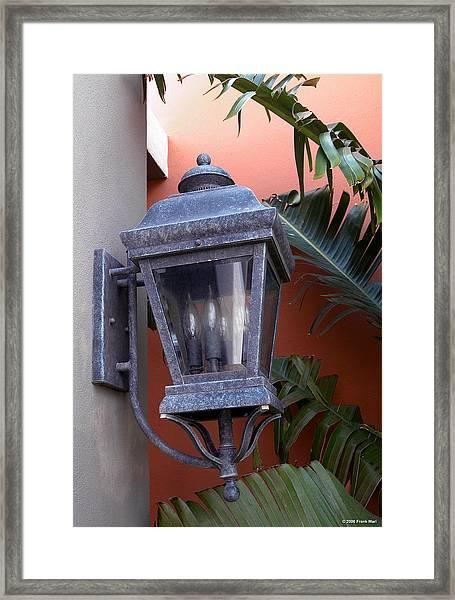 Lantern - Bermuda Framed Print