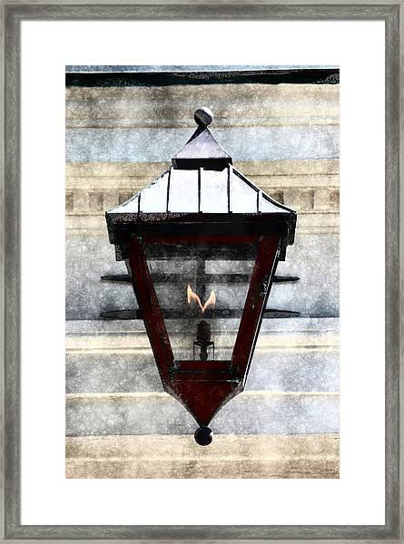 Lantern 13 Framed Print