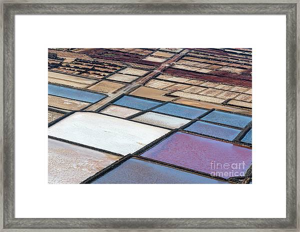 Las Salinas Framed Print