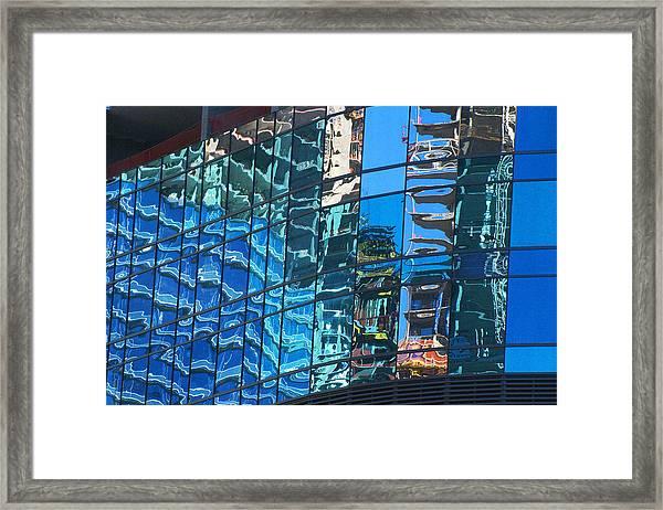 Las Vegas City Center Reflection Framed Print