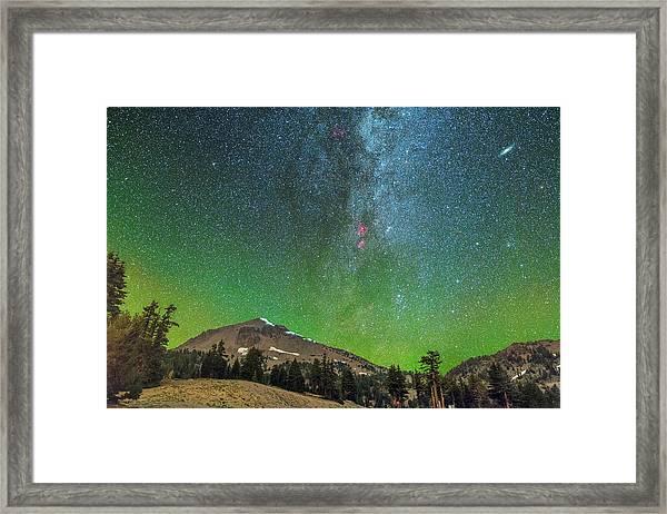 Lassen Nights Framed Print