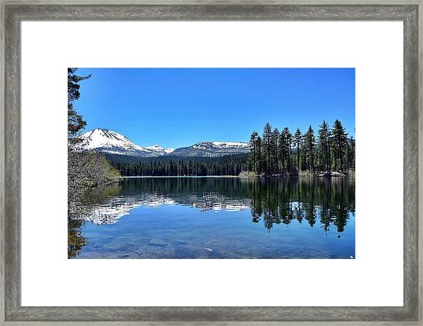 Lassen Volcanic National Park Framed Print