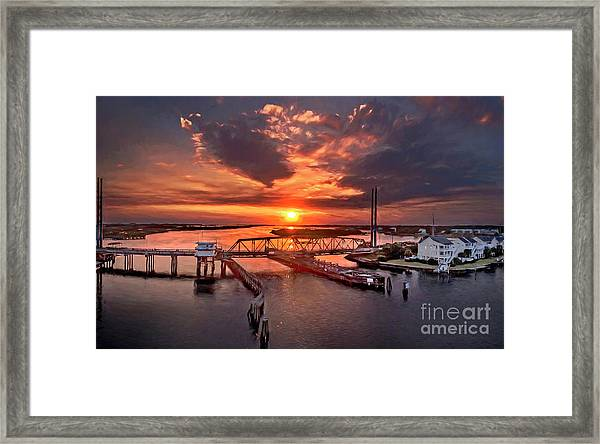Framed Print featuring the photograph Last Days by DJA Images