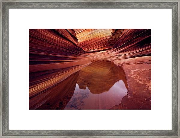 Last Glance Framed Print