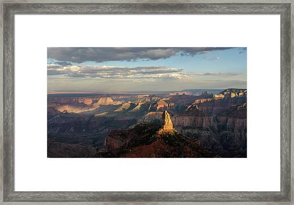 Last Light Mt Hayden Framed Print