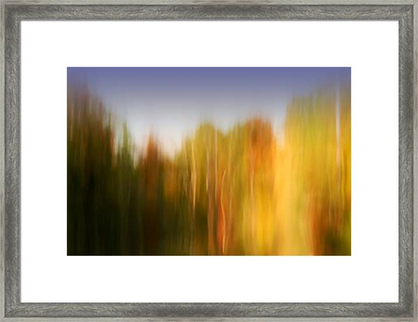 Last November At Duke Framed Print
