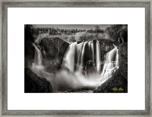 Late Afternoon At The High Falls Framed Print
