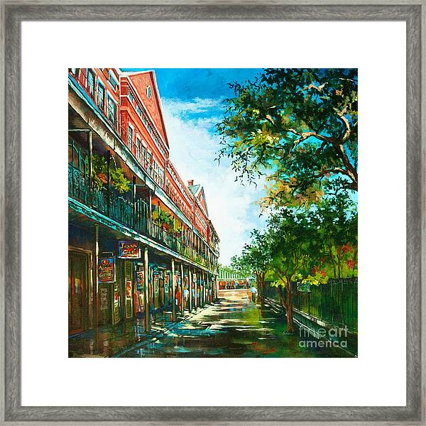 Late Afternoon On The Square Framed Print