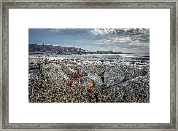 Late Fall Ride Framed Print