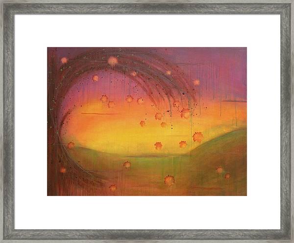 Late Fall - Tree Series Framed Print