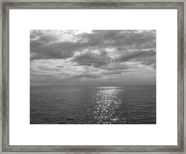 Immensity With Light Framed Print