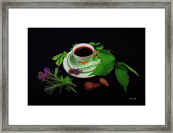Late Summer Coffee Framed Print
