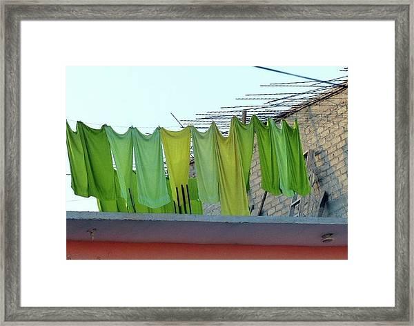 Artisan Laundry Framed Print