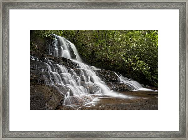 Laurel Falls Framed Print