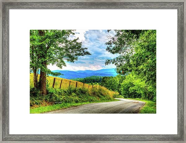 Laurel Hill View Framed Print