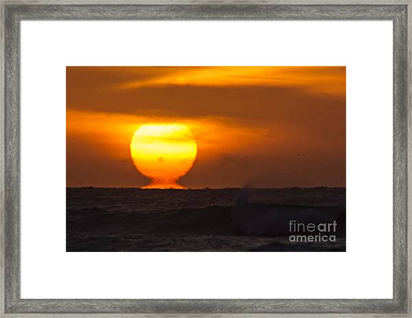 Framed Print featuring the photograph Lava by DJA Images