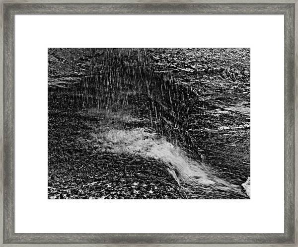 Lava Falls Framed Print