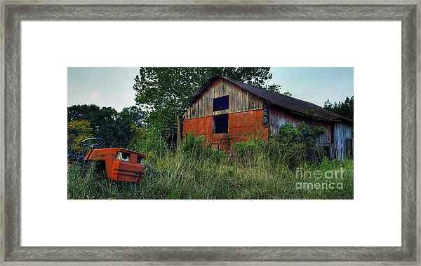 Lawn Gone Framed Print