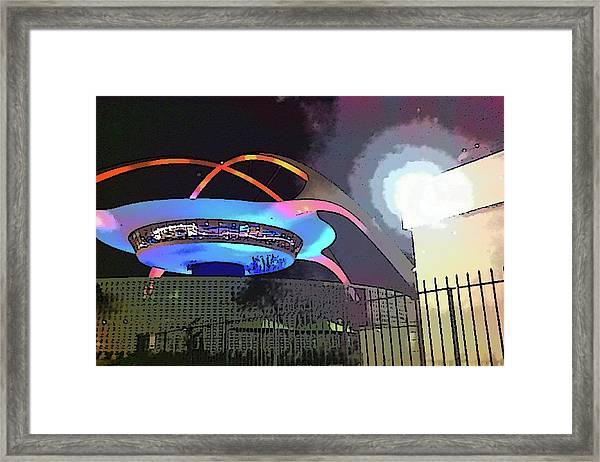 Lax Restaurant Framed Print
