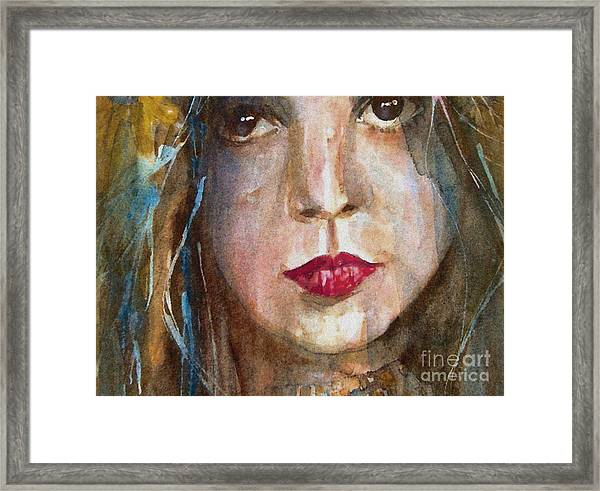 Lay Lady Lay Framed Print
