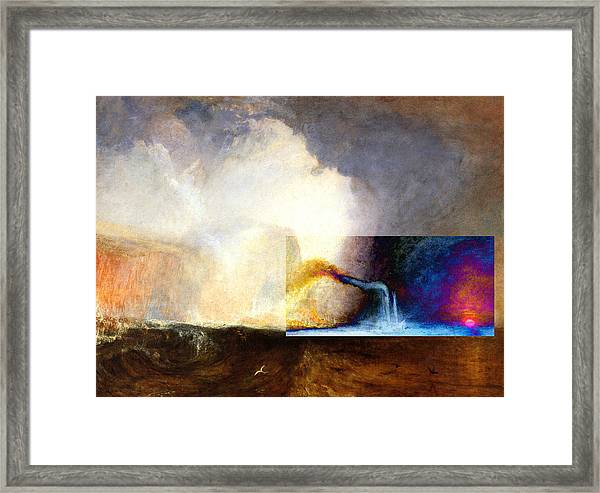 Layered 1 Turner Framed Print