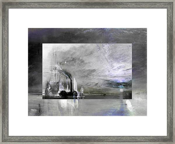 Layered 11 Turner Framed Print