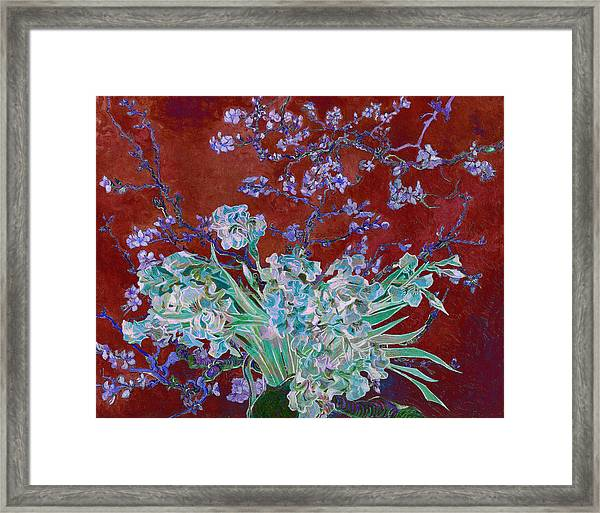Layered 5 Van Gogh Framed Print