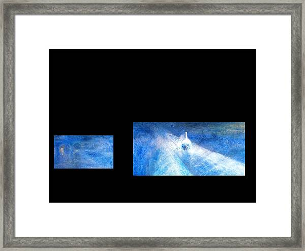 Layered 8 Turner Framed Print