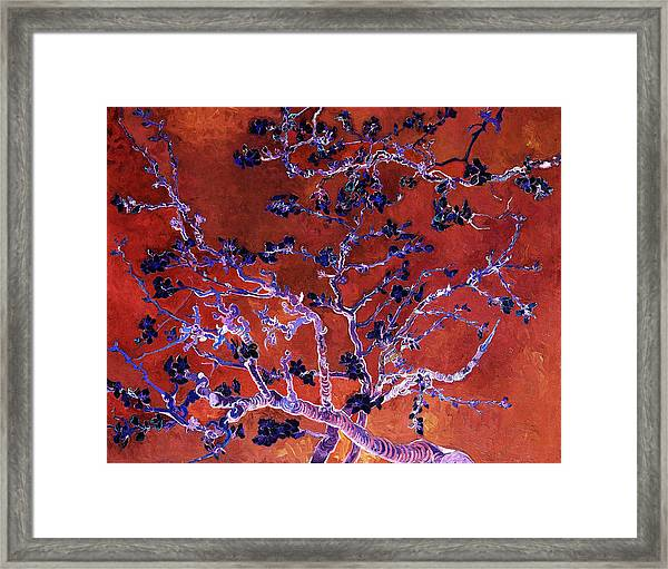 Layered 9 Van Gogh Framed Print