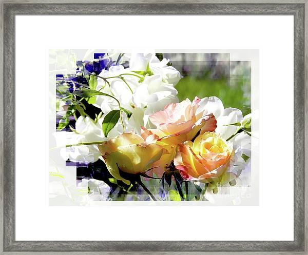 Layering Framed Print