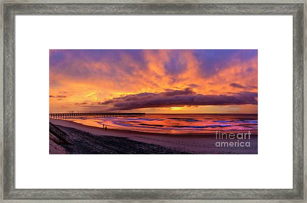 Framed Print featuring the photograph Layers by DJA Images