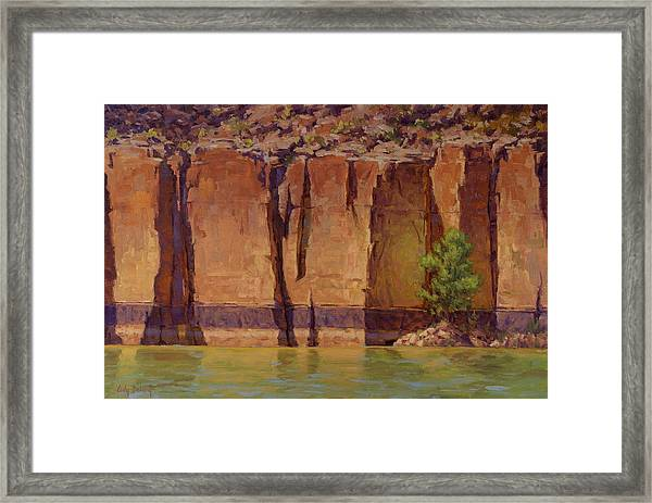 Layers In Time Framed Print