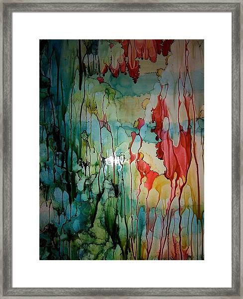 Layers Of Life Framed Print