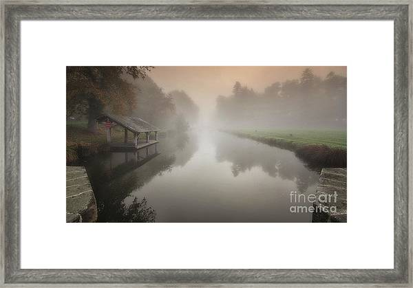 The Sleeping Channel Framed Print