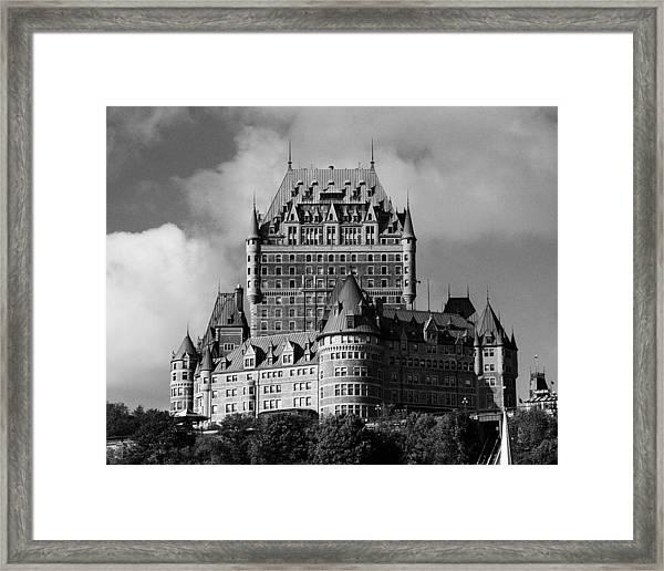 Le Chateau Frontenac - Quebec City Framed Print