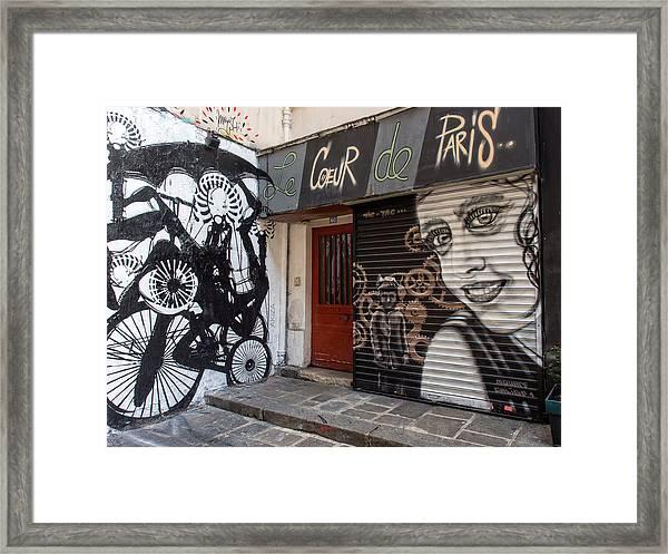 Le Coeur De Paris Framed Print