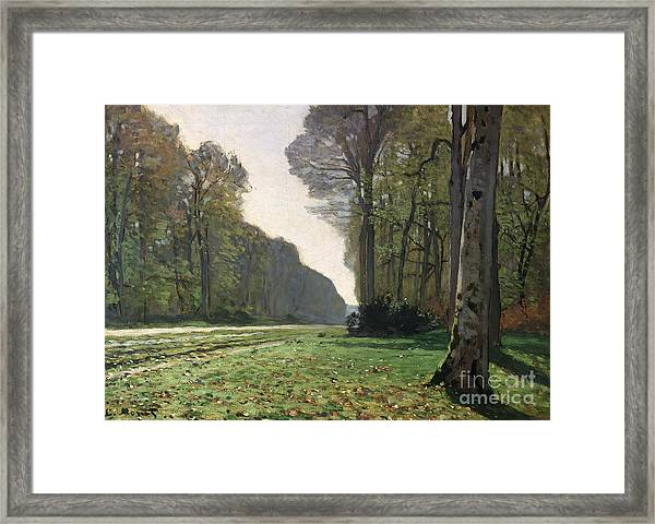 Le Pave De Chailly Framed Print