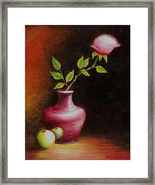Le Rose Framed Print