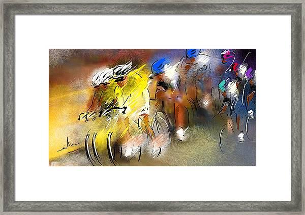 Le Tour De France 05 Framed Print