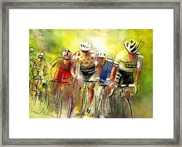 Le Tour De France 07 Framed Print