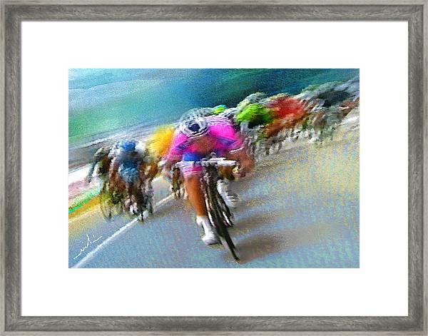Le Tour De France 09 Framed Print