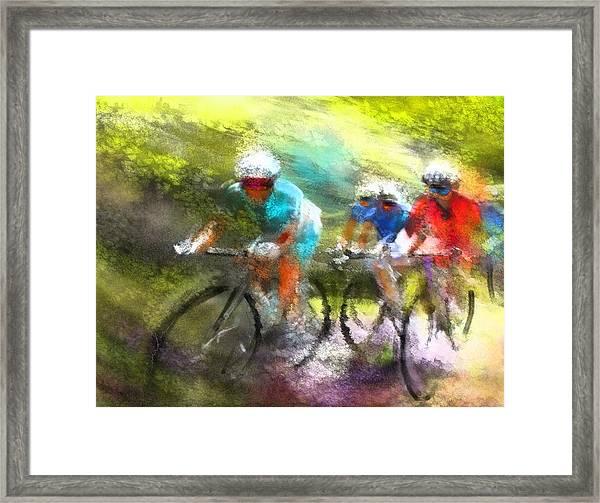 Le Tour De France 11 Framed Print