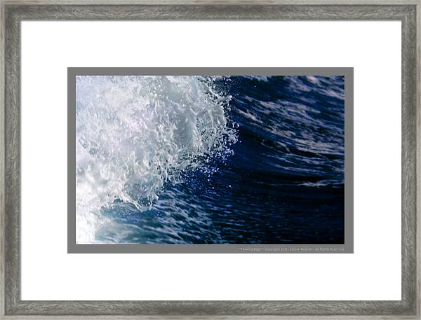 Leading Edge Framed Print